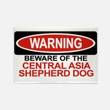 CENTRAL ASIA SHEPHERD DOG Rectangle Magnet (100 pa