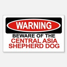 CENTRAL ASIA SHEPHERD DOG Rectangle Decal