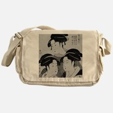 Vintage Japanese Women Messenger Bag