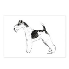 Wire Fox Terrier Postcards (Package of 8)