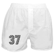 Racing Flag #37 Boxer Shorts