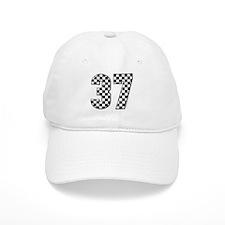 Racing Flag #37 Baseball Cap