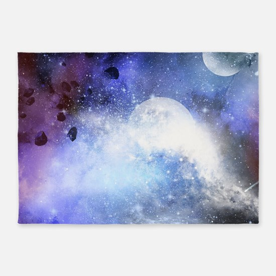 The universe 5'x7'Area Rug