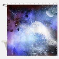 The universe Shower Curtain