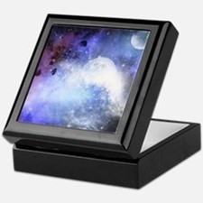 The universe Keepsake Box