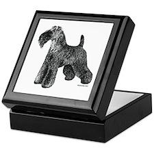 Kerry Blue Terrier Keepsake Box