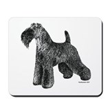 Kerry blue terrier Mouse Pads