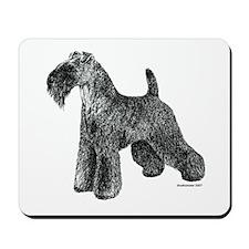 Kerry Blue Terrier Mousepad