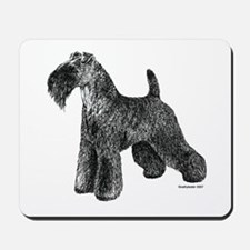 Kerry Blue Terrier Mousepad