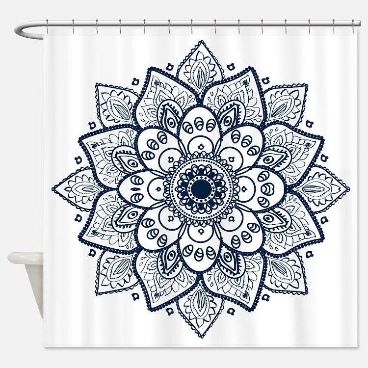 Mandalas Shower Curtains