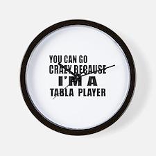 I Am Tabla Player Wall Clock