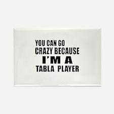 I Am Tabla Player Rectangle Magnet