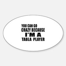 I Am Tabla Player Sticker (Oval)