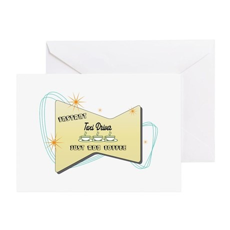 Instant Taxi Driver Greeting Card
