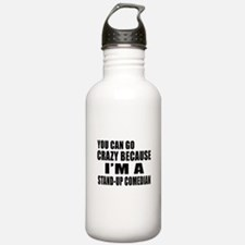 I Am Stand-up comedian Water Bottle