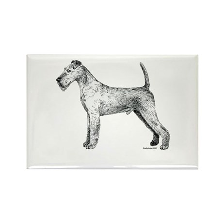 Irish Terrier Rectangle Magnet