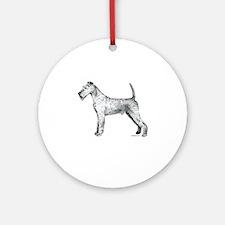 Irish Terrier Ornament (Round)