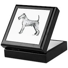 Irish Terrier Keepsake Box