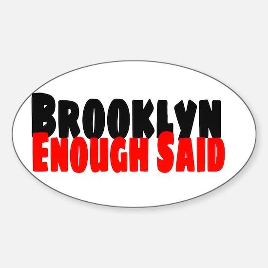 Brooklyn Decal