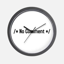 /*no comment*/ Wall Clock