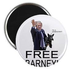 "Free Barney! 2.25"" Magnet (10 pack)"