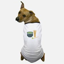 Matcha Green Tea Set Dog T-Shirt