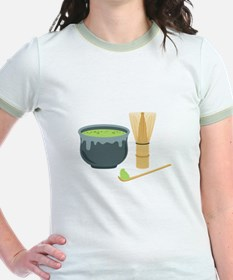 Matcha Green Tea Set T-Shirt