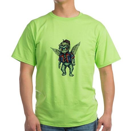 Winged Monkey Green T-Shirt