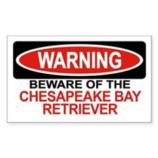 CHESAPEAKE BAY RETRIEVER Rectangle Decal