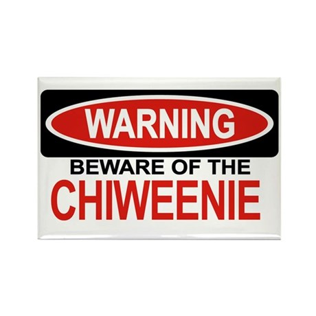 CHIWEENIE Rectangle Magnet (10 pack)
