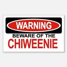 CHIWEENIE Rectangle Decal