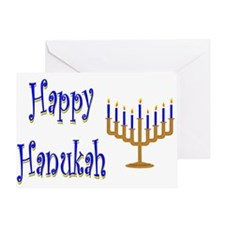 Happy Hanukah Greeting Card