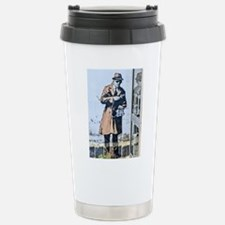 BANKSY SPY BOOTH CHELTE Stainless Steel Travel Mug