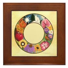 Ring of Seasons Framed Tile