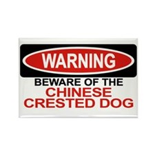 CHINESE CRESTED DOG Rectangle Magnet (100 pack)