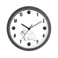 Sealyham Terrier Wall Clock