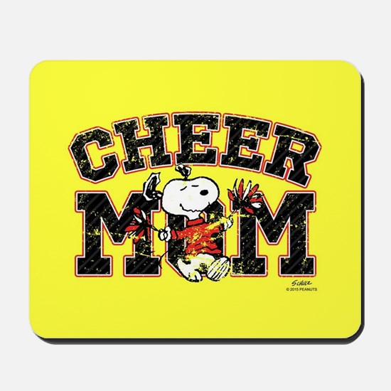 Snoopy - Cheer Mom Full Bleed Mousepad