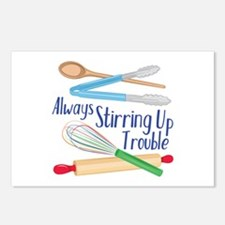 Stirring Up Trouble Postcards (Package of 8)