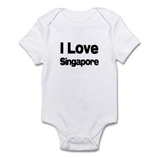 I Love Singapore Onesie