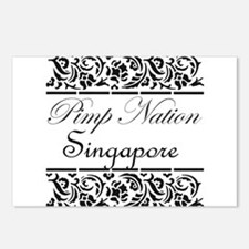 Pimp Nation Singapore Postcards (Package of 8)