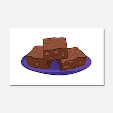 Brownies Car Magnet 20 x 12