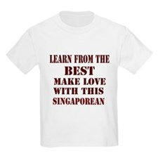Make Love with This Singapore T-Shirt