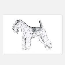 Lakeland Terrier Postcards (Package of 8)