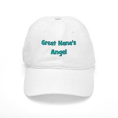 Great Nana's Angel. Baseball Cap