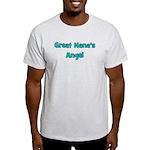 Great Nana's Angel. Light T-Shirt
