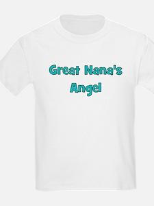 Great Nana's Angel. T-Shirt