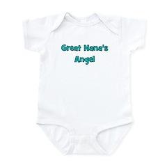 Great Nana's Angel. Infant Bodysuit