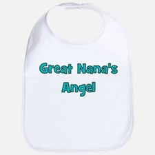 Great Nana's Angel. Bib