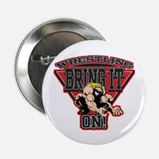 """Wrestling Bring It On 2.25"""" Button (10 pack)"""