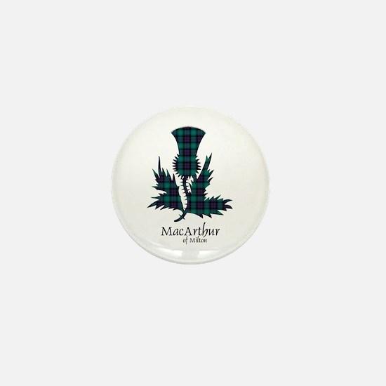 Thistle - MacArthur of Milton Mini Button